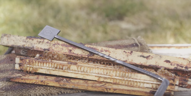 Make your beekeeping work easier - grab the Ultimate hive tool!