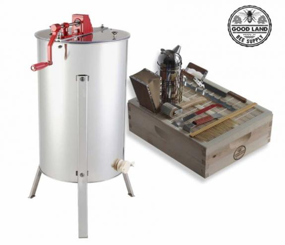 Goodland Bee Supply 2 Frame Honey Extractor