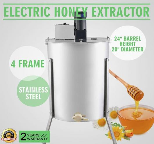 OrangeA Honey Extractor Bee Honey Extractor Electric