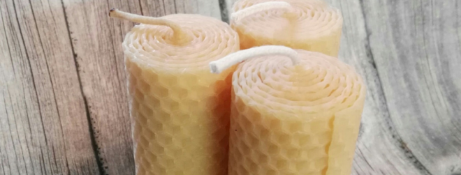 How to make homemade beeswax candles?