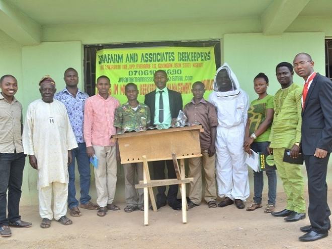 Jorafarm bees: inspirational organization that specializes in beekeeping