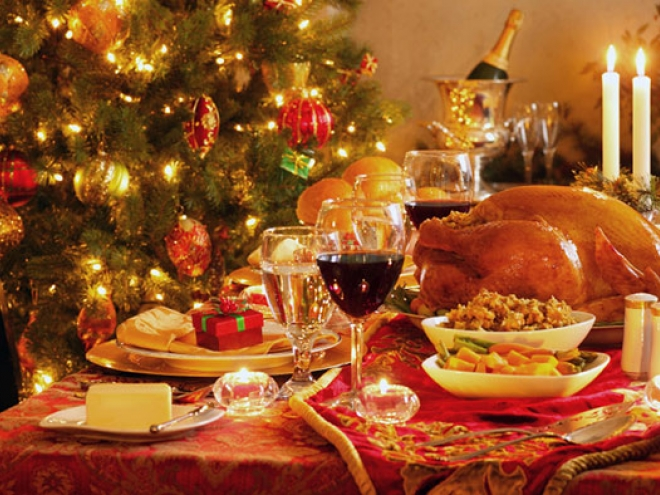 What Christmas dinner without bees would look like